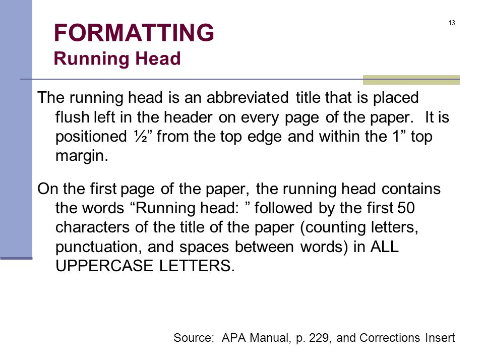 apa format parts research paper In the first article of our american psychological association (apa) series, we talked about apa style and formatting basics this article will discuss how to write an apa-styled paper, tackling essay components like the title page, abstract, and body.