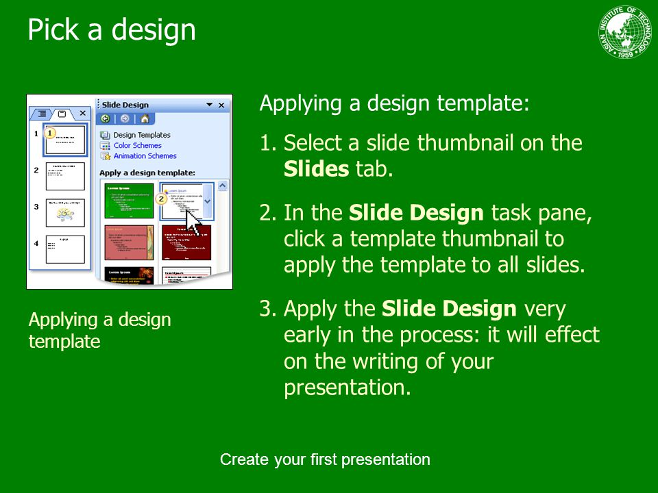 create your first presentation - ppt download, Presentation templates