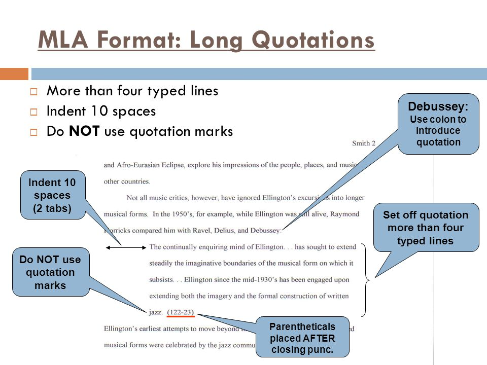 mla research paper long quotes