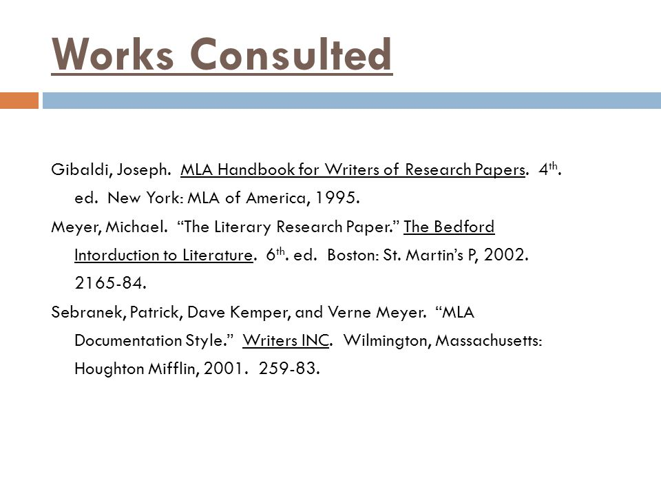 mla format work citing