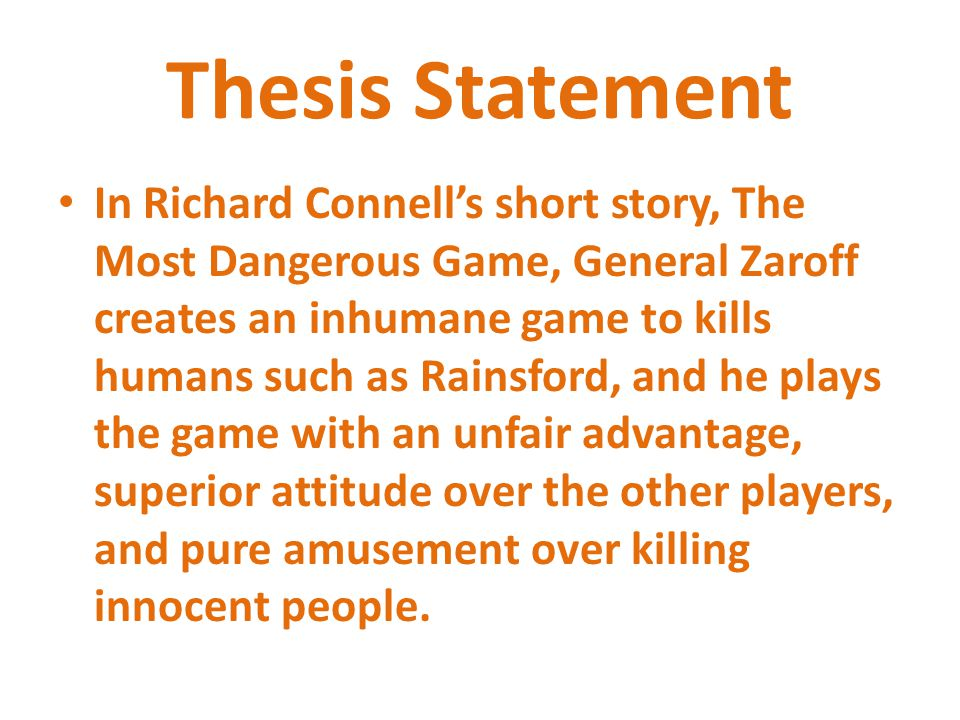 the most dangerous game essay prompt The most dangerous game study guide contains a biography of richard connell, quiz questions, major themes, characters, and a full summary and analysis.