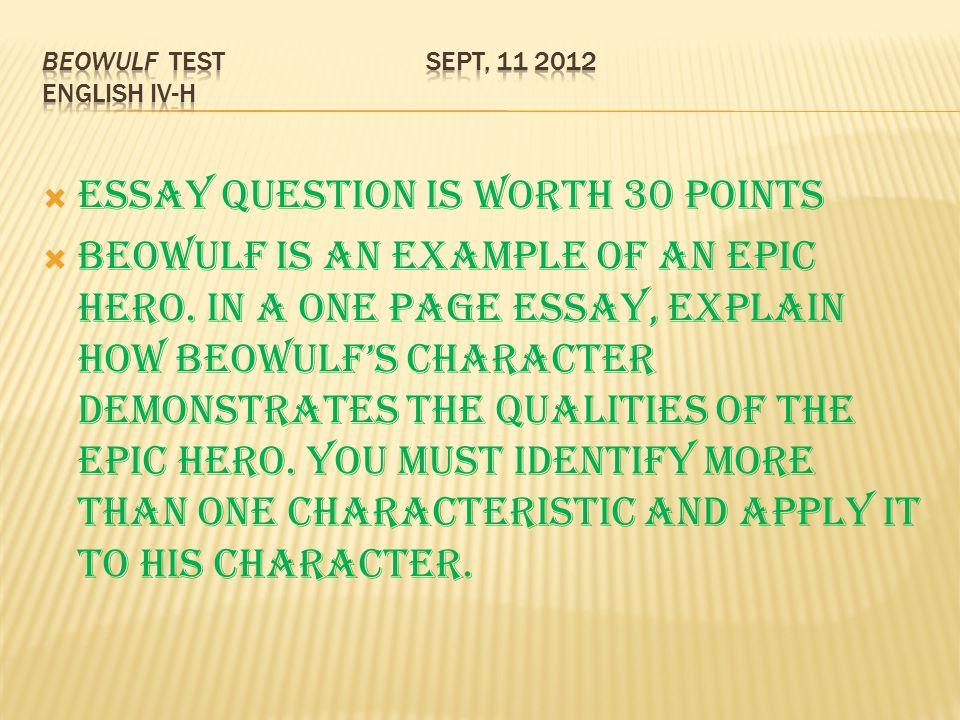 Epic Hero Essay Examples  Computersmeetingcf Epic Hero Essay Examples