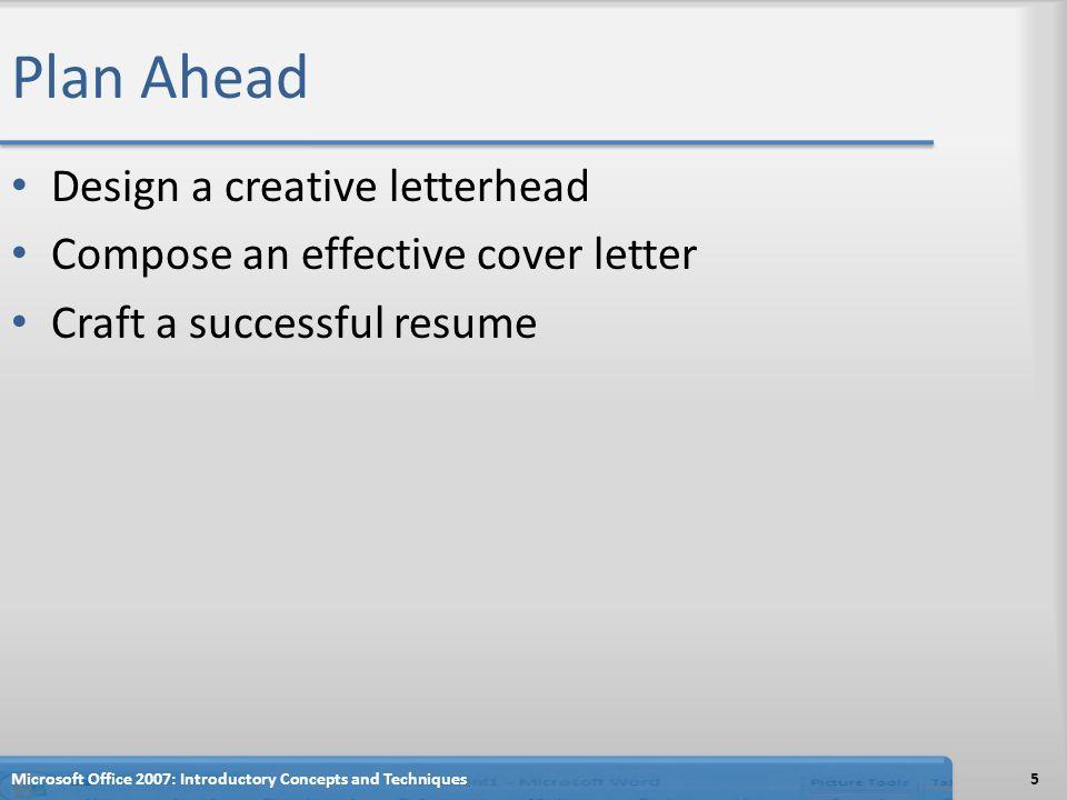 plan ahead design a creative letterhead - Cover Letter Letterhead