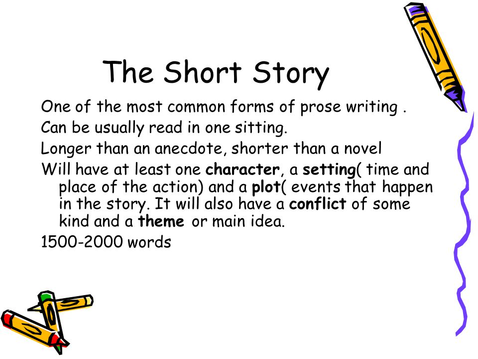 how to write a short story 2000 words