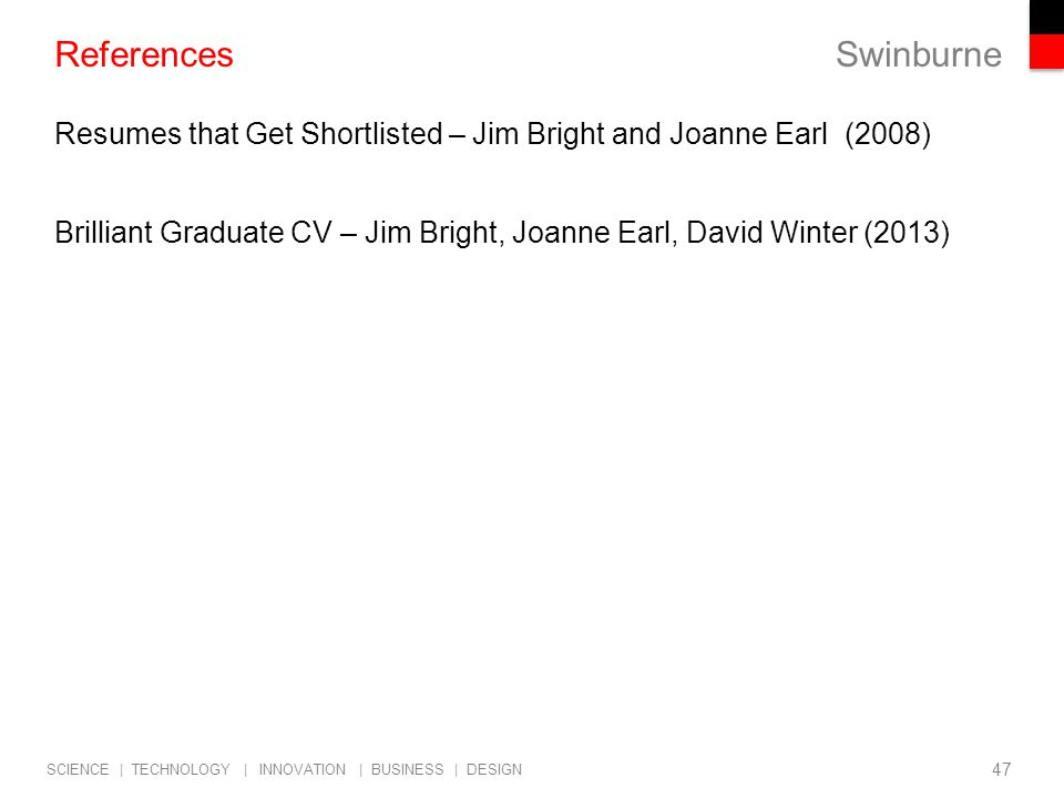references on resumes