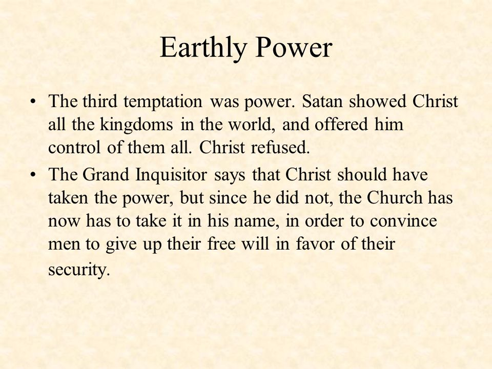 How much power does Satan have?
