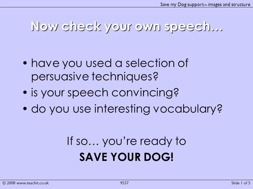 List Of Persuasive Techniques In Speeches