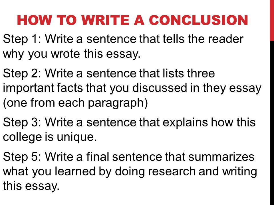 How to Write a Conclusion Paragraph, FREE Slides + Handout, Model Conclusions