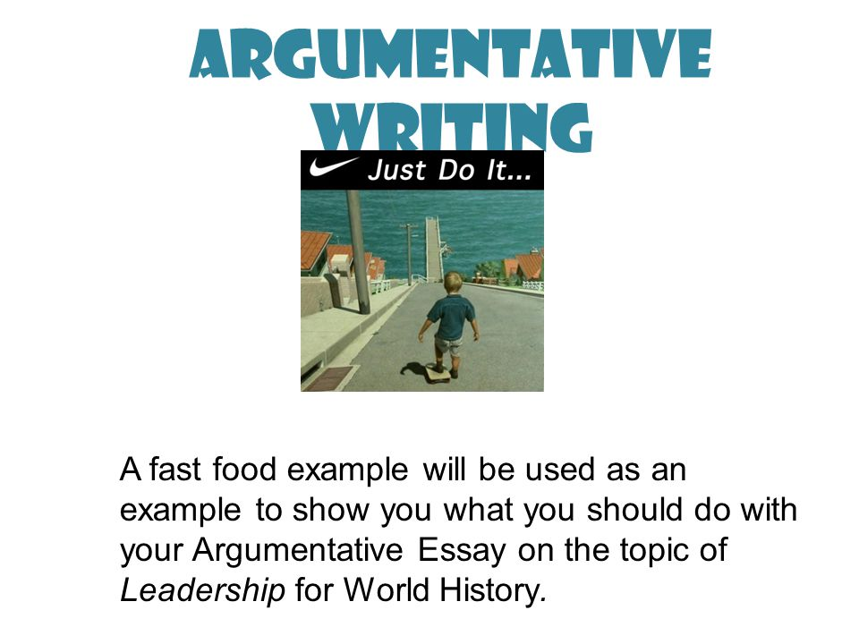 argumentative writing ppt  argumentative writing
