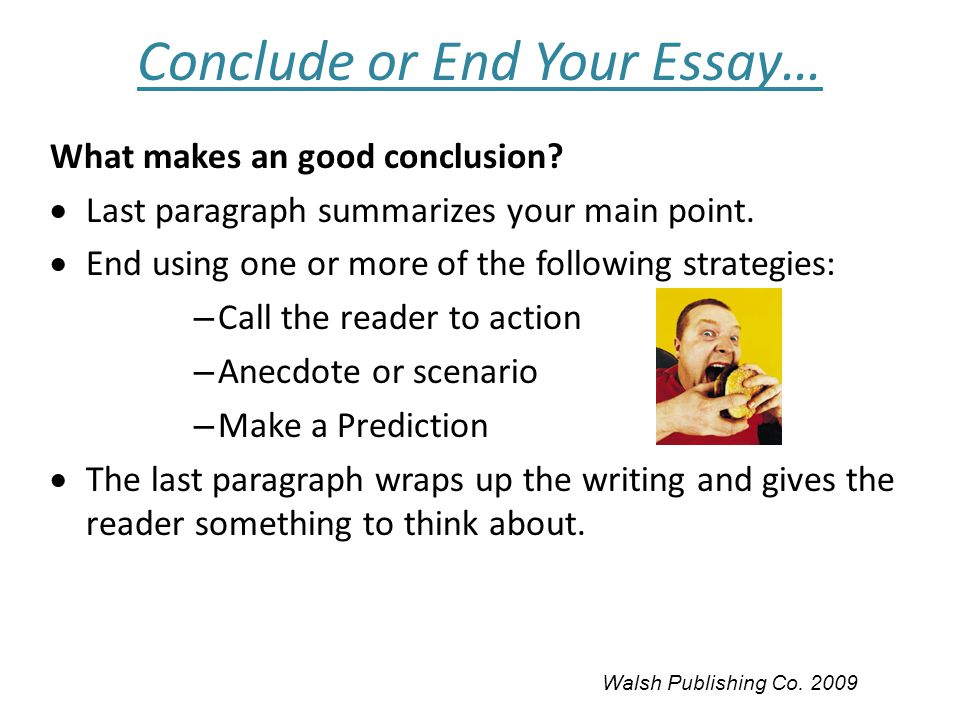to conclude an essay Whatever theme you select your article ought to be compelling enough and be besides the fair and unexciting essays that wind up within the rejection container.