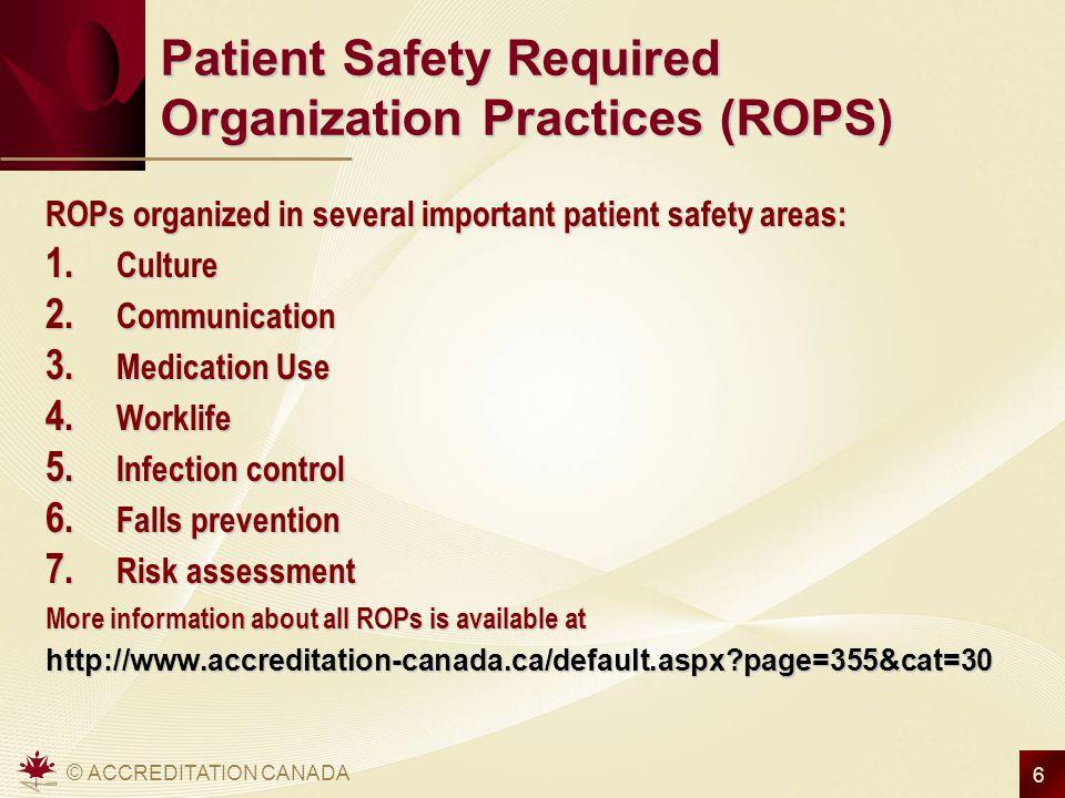 Accreditation Canada Amp Ismp Canada Ismp Community Of