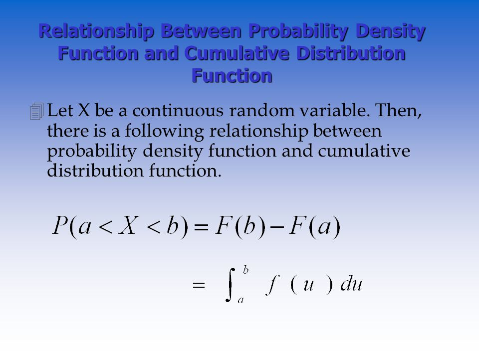 relationship between density and dispersion