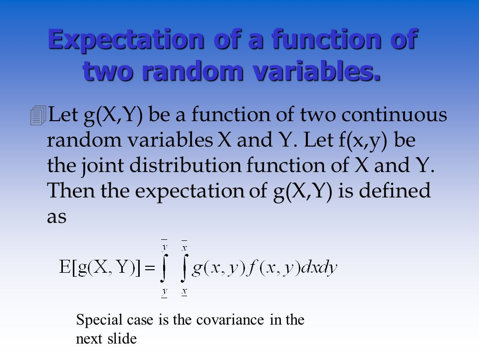 how to tell if two random variables are independent