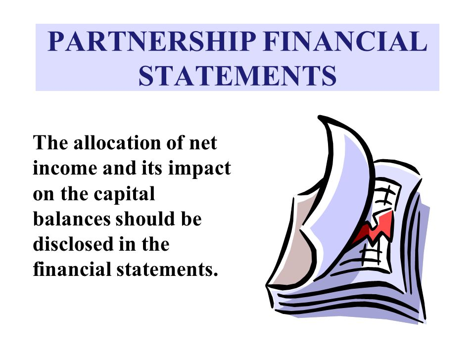 PARTNERSHIP FINANCIAL STATEMENTS