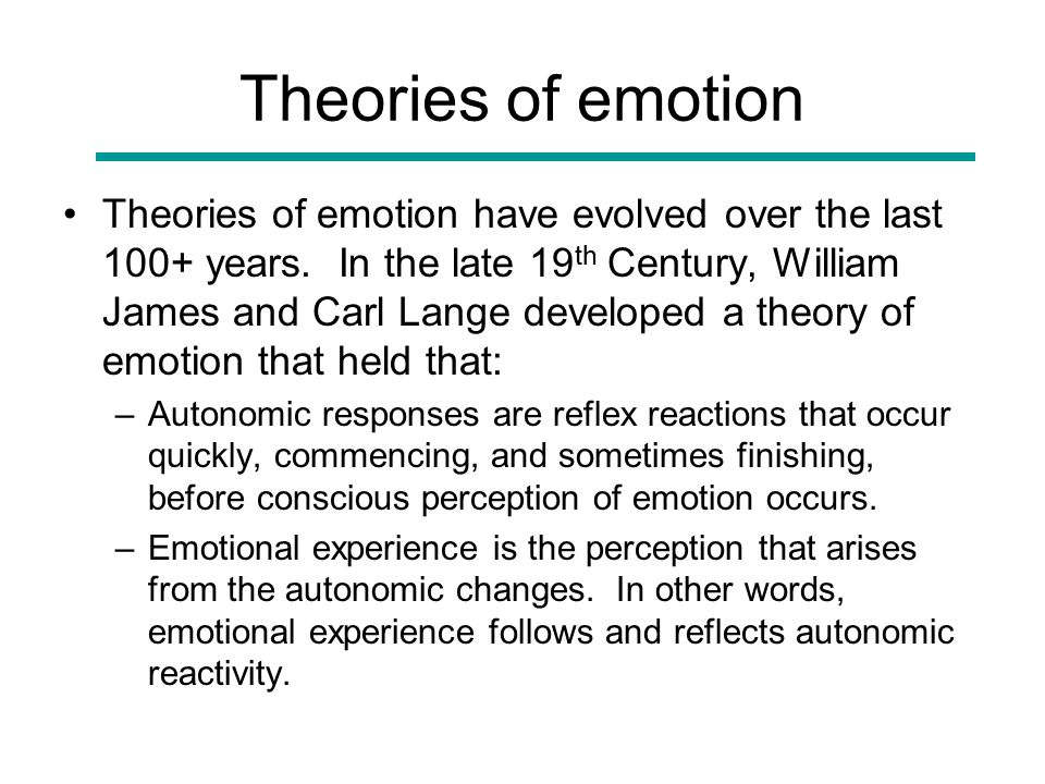 hypothalamic theory of emotion 5 5 perspectives on motivation perspectives to explain motivation include the following:  when the instinct theory of motivation failed to explain most human motivation, it was replaced by  hypothalamus in the brain rat hypothalamus 27 hypothalamic centers.