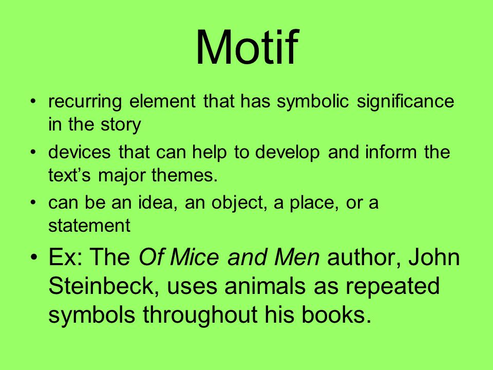 the key literary elements of of mice and men by john steinbeck Everything you need to know about the tone of john steinbeck's of mice and men,  literature / of mice and men / analysis /  of mice and men is written in a .
