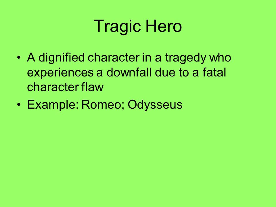 What is romeos tragic flaw?