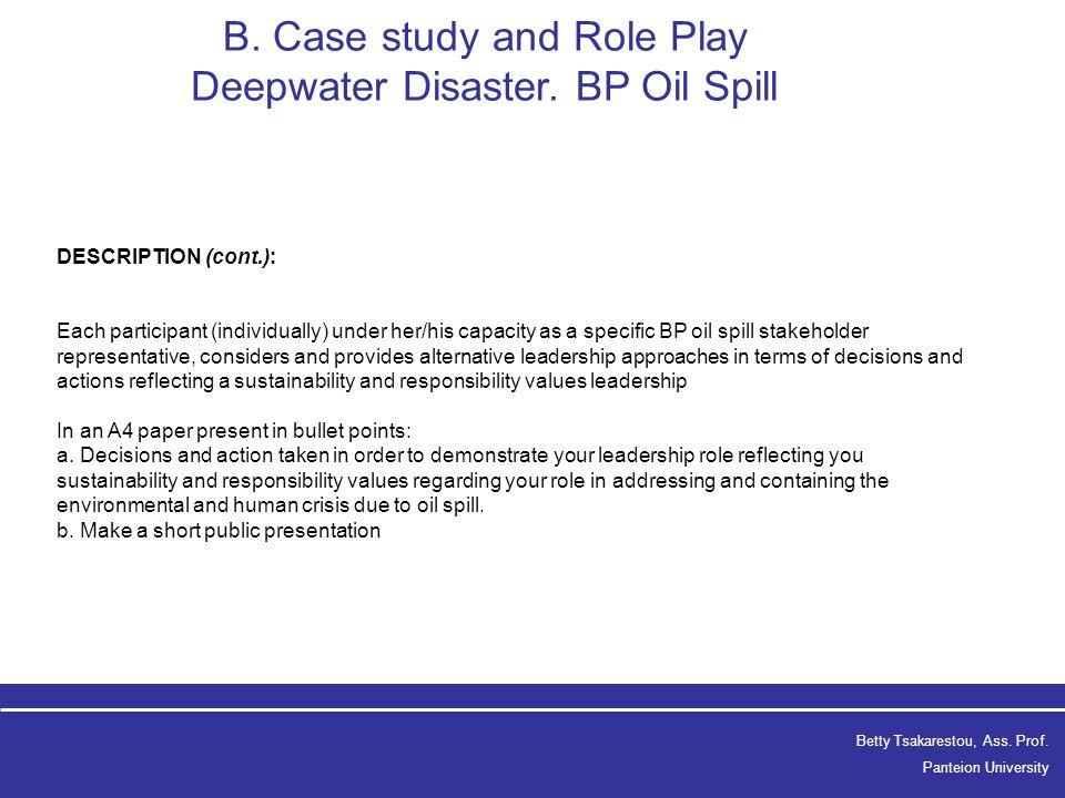 (PDF) Crisis communication failures: The BP Case Study