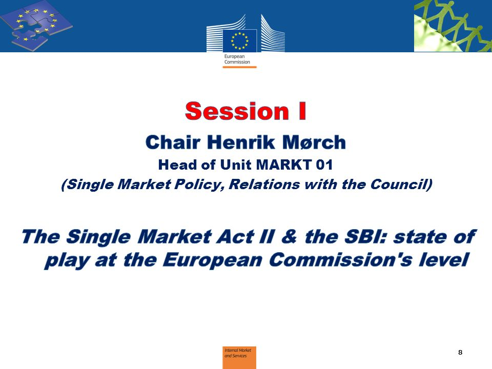 (Single Market Policy, Relations with the Council)