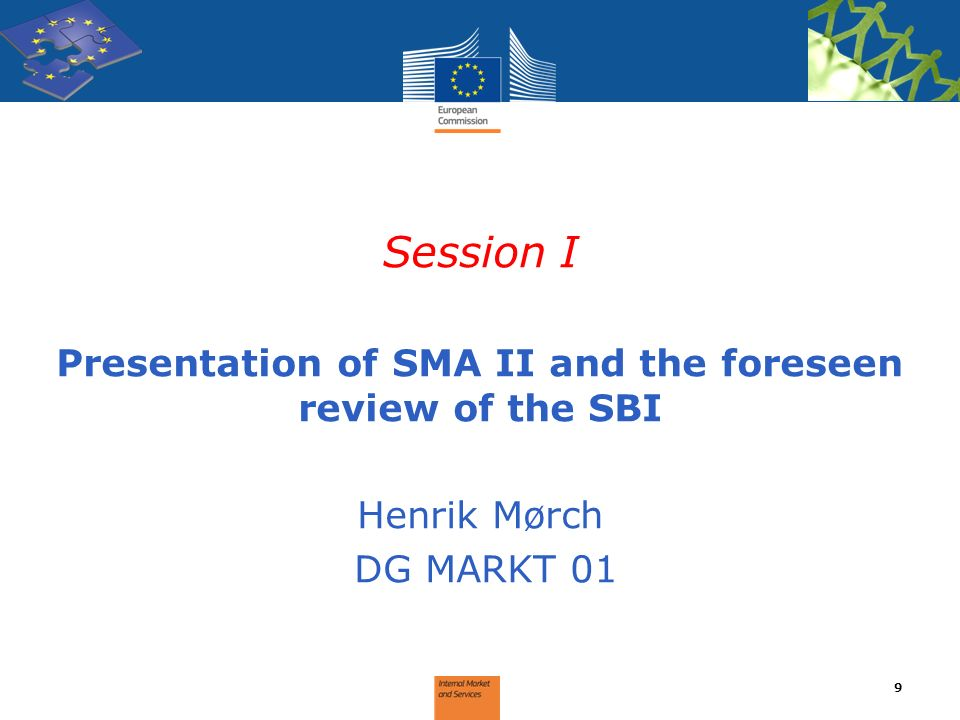 Presentation of SMA II and the foreseen review of the SBI