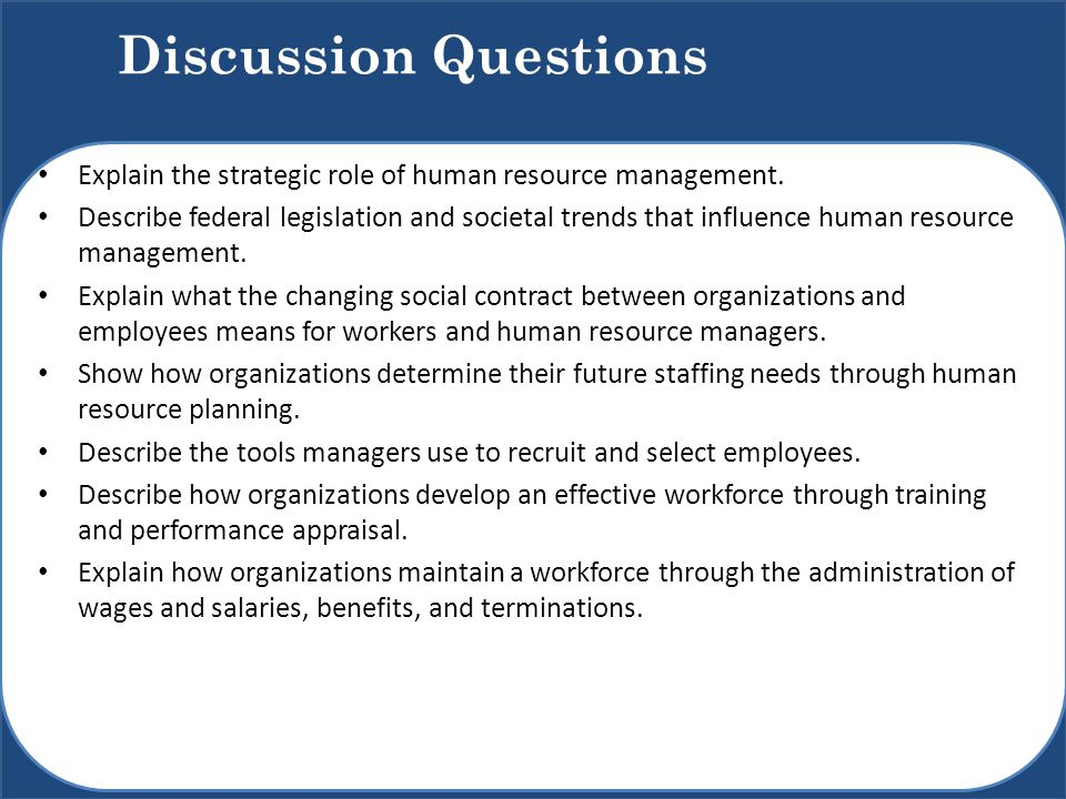 explain the need for human resource planning system