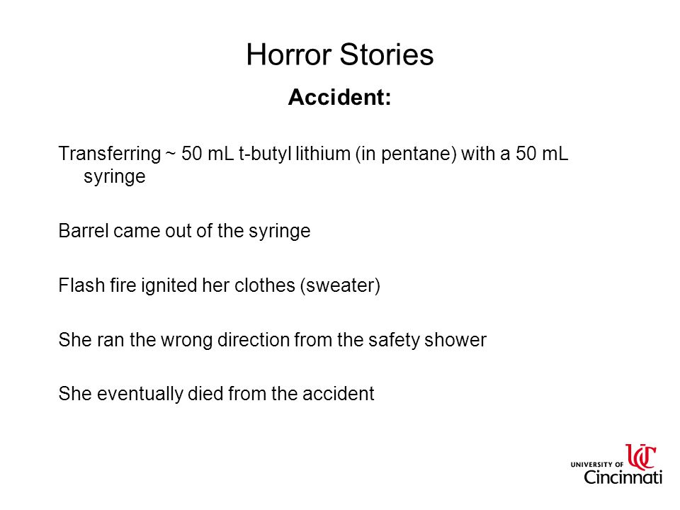 Horror Stories Accident: