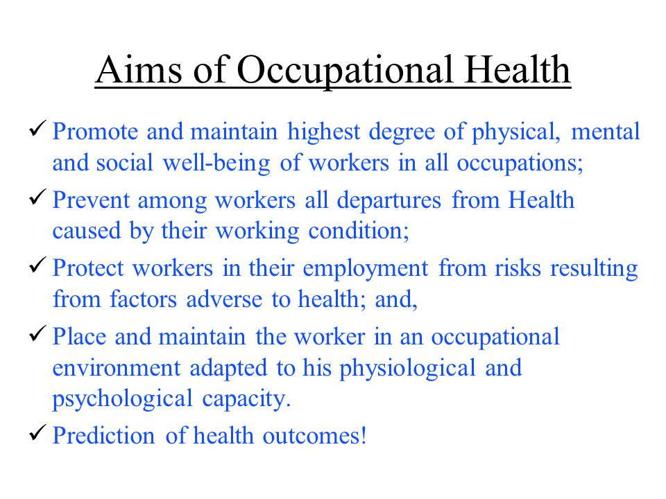 an occupational perspective of health pdf