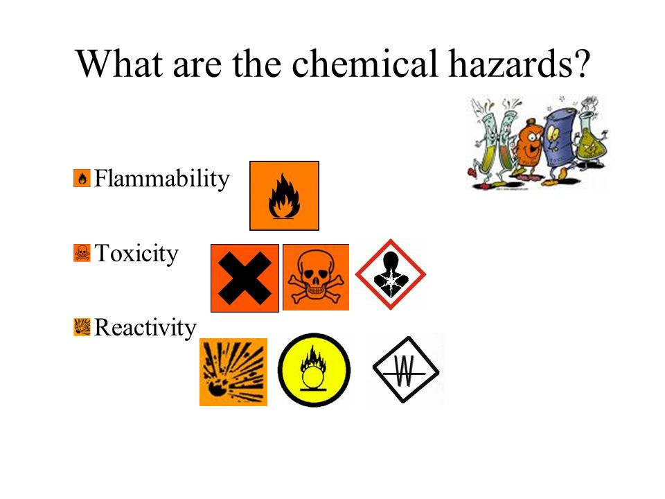 What are the chemical hazards