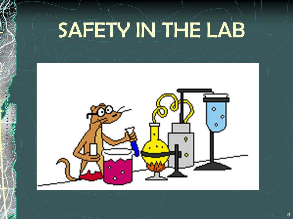 SAFETY IN THE LAB
