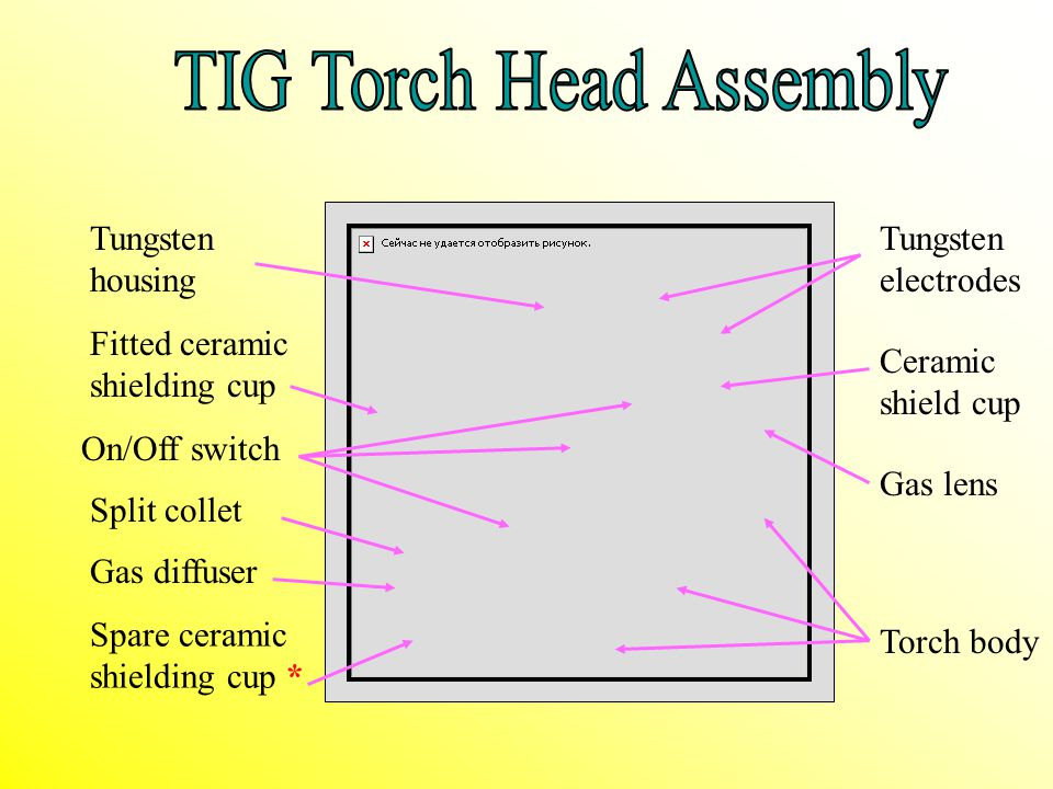 TIG Torch Head Assembly
