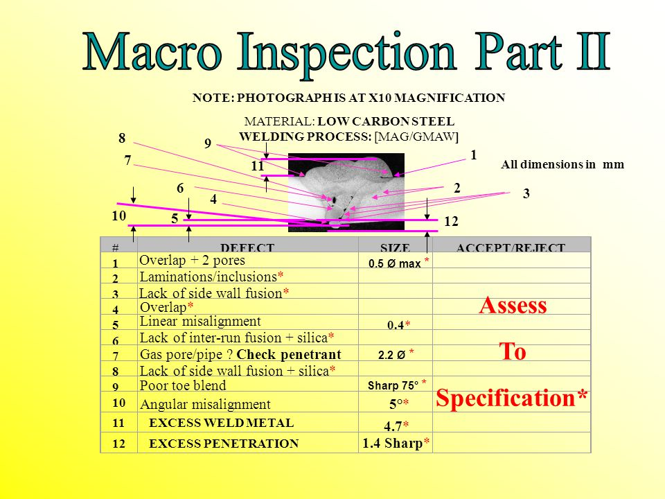 NOTE: PHOTOGRAPH IS AT X10 MAGNIFICATION