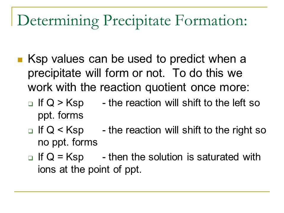 Precipitation Equilibrium - ppt video online download