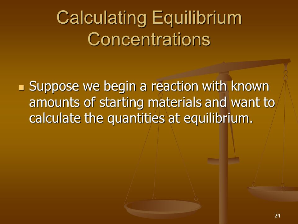 how to find equilibrium concentrations