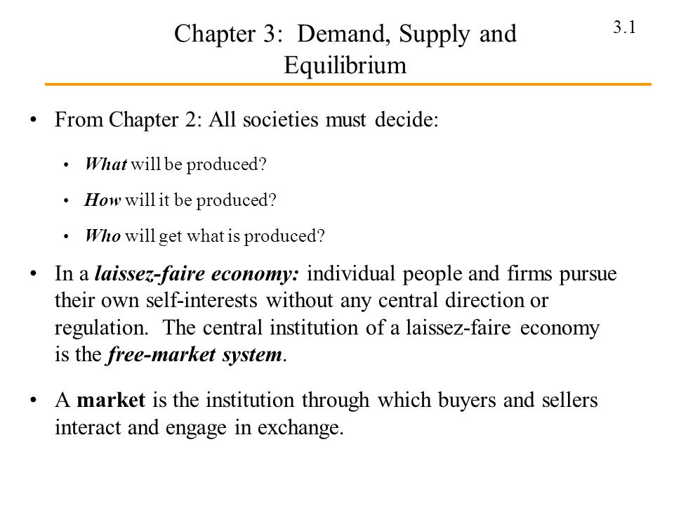 chapter 3 supply and demand View essay - chapter 3 supply and demand from managerial adw614 at university of science, malaysia chapter 3 supply and demand question 1 briefly list and elaborate on the factors that will be.