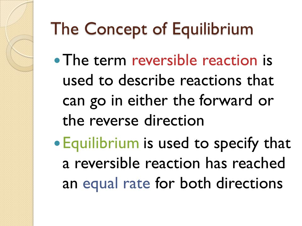 haldane relationship for reversible reaction chemistry