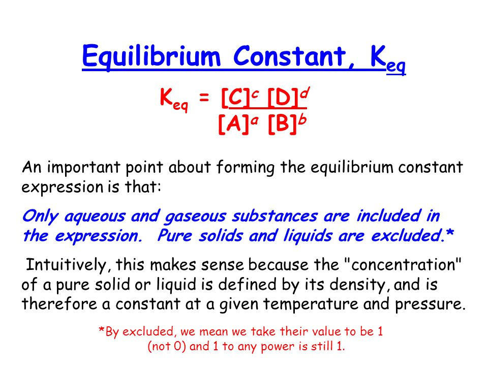 how to find equilibrium constant
