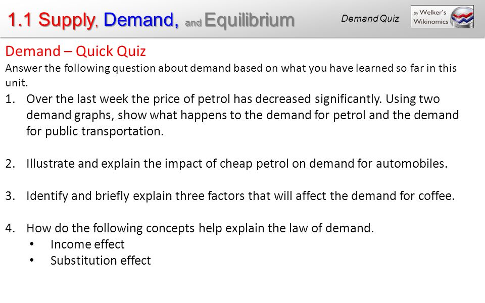 discuss factors which affect demand explain concept price Explain the concept of elasticity of demand one of the factors that affect the ped is the substitutes and discuss why it may be important for a firm to have knowledge of price elasticity of demand: the concept of ped generally help firms decide whether to raise or drop.