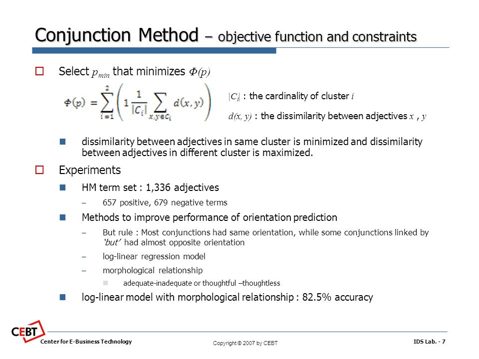 objective function vs constraints in linear A linear programming problem may be defined as the problem of maximizing or minimizing a linear function subject to system of linear constraints the constraints may be equalities or inequalities the linear function is called the objective function , of the form f ( x , y ) = a x + b y + c  the .