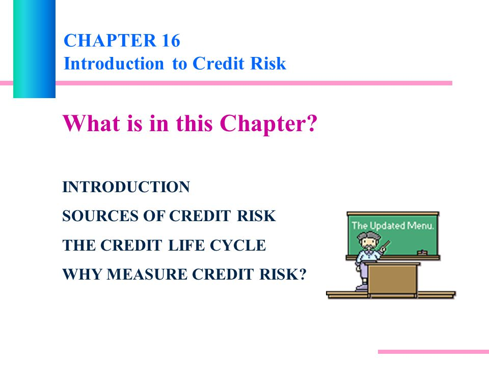CHAPTER 16 Introduction to Credit Risk - ppt video online download
