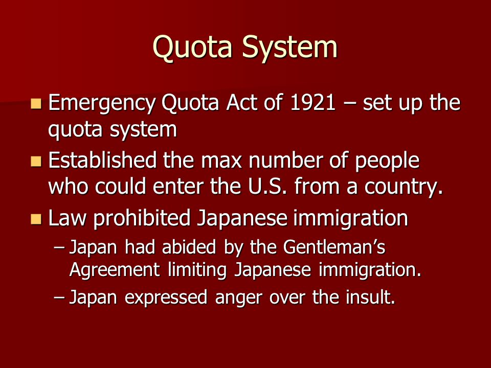 quota system immigration - photo #25