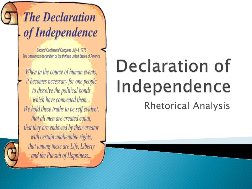 an essay on the declaration of independence