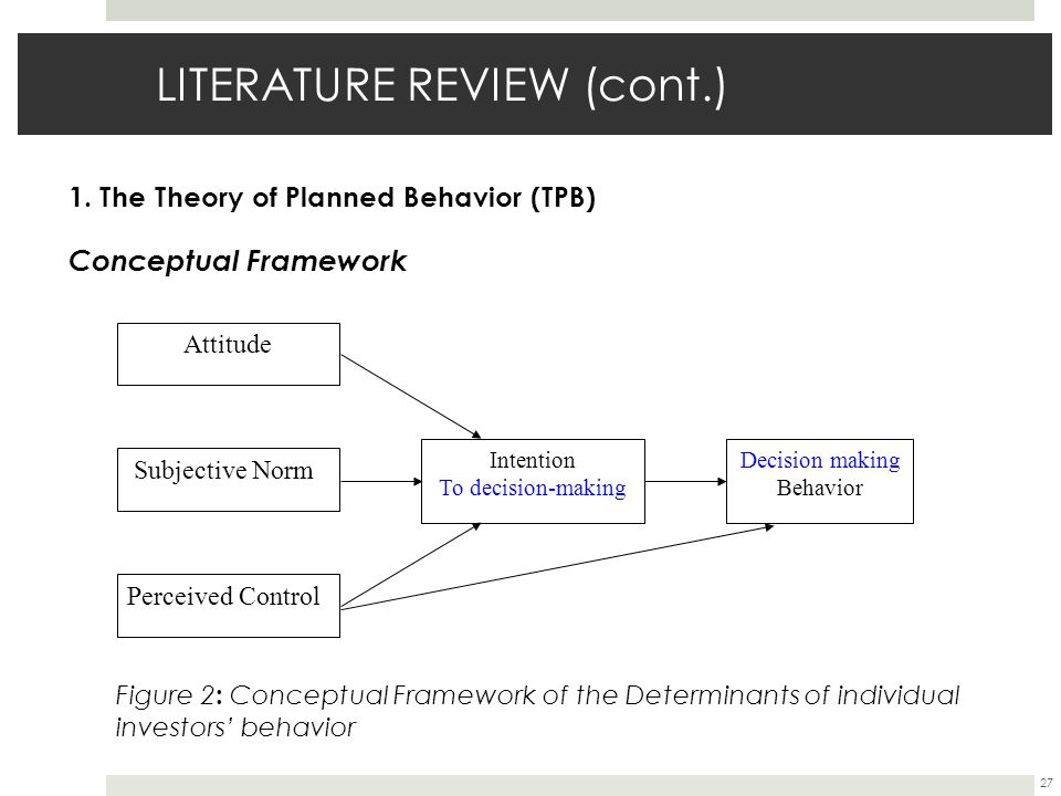 literature review and conceptyal framework I introduction and theoretical framework  including a discussion of the conceptual or theoretical framework in which it  the literature review accomplishes .