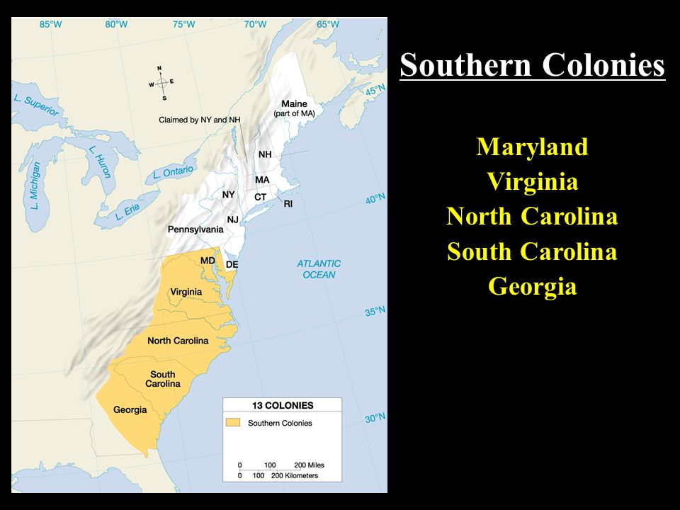 Southern colonies maryland virginia north carolina south carolina southern colonies maryland virginia north carolina south carolina sciox Gallery
