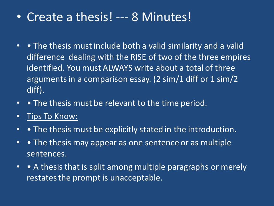 build a thesis Thesis statements are like the foundation of a building if you have a shaky foundation then your building will not be structurally correct, and having a shaky building is quite horrific the same goes with thesis statements.
