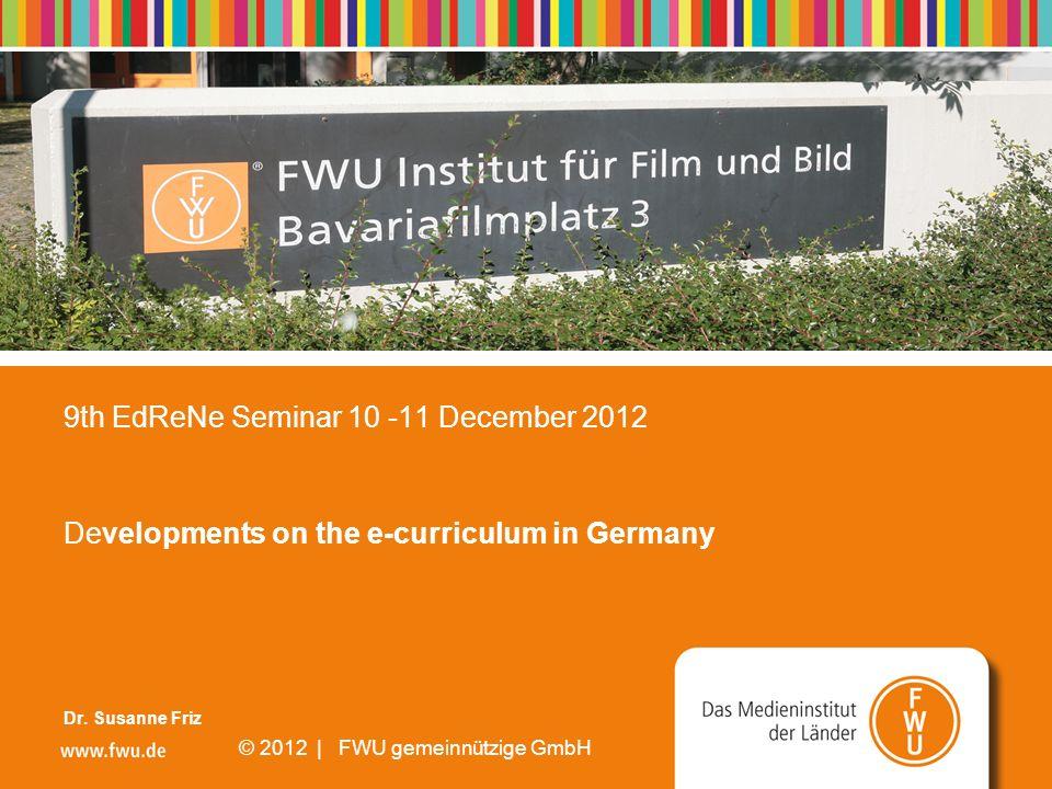© 2008 | FWU gemeinnützige GmbH