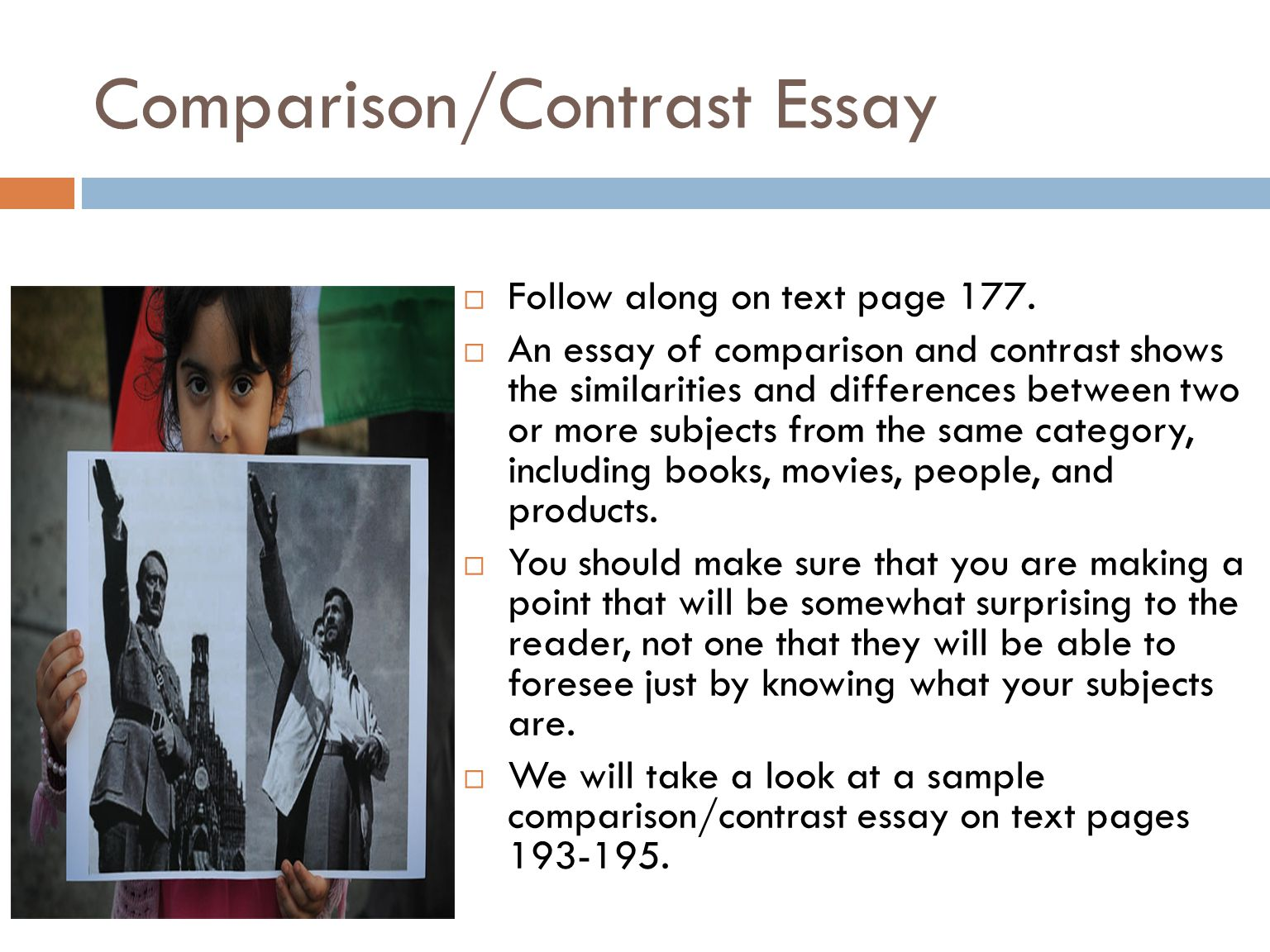 comparison and contrast essay two sports