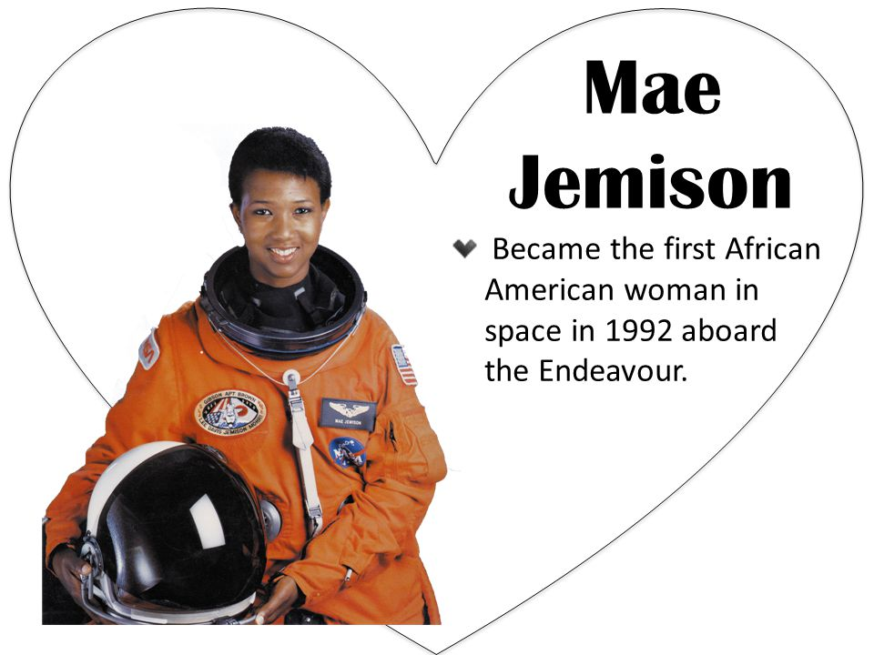 black single women in jemison Former astronaut mae jemison's travels will include a stop in dallas next monththe first black woman in space will speak at the annual women of.