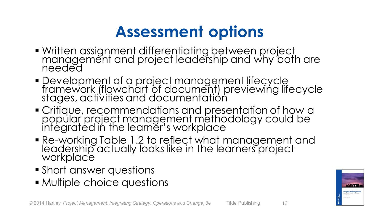 project management written assignment 1 Free management assignment papers assignment i have to investigate customer service by writing a report on a 31 project management theory 3.