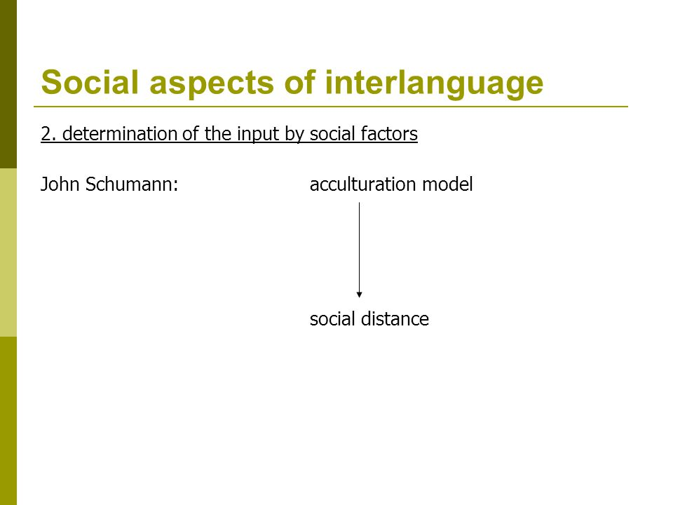 acculturation model by john schumann pdf