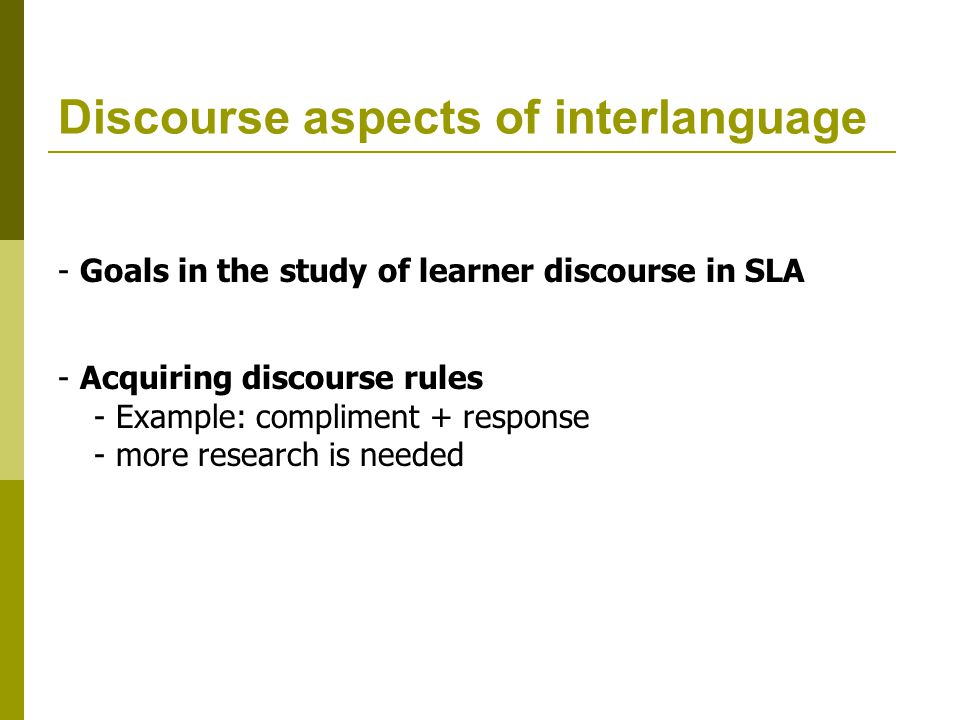 an analysis of the topic of amara and the language theory by john schumann Sociolinguistic perspective on an sla theory of mind 1978 discourse analysis and second language acquisition, in: schumann, john.